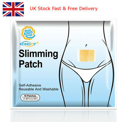 Pcs Extra Strong Slimming Patches Fast Weight Loss Fat Burner Diet Patch Belly
