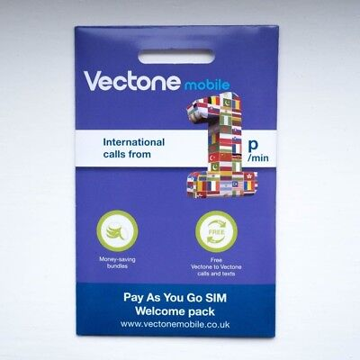 VECTONE SIM CARD - Powered with EE - DATA SIM 30GB - DONGLES, LAPTOPS, MOBILES