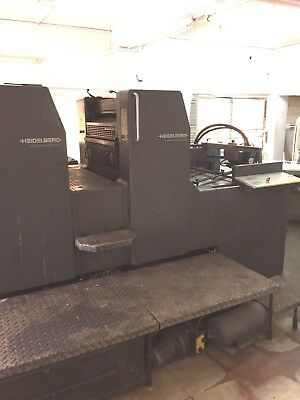 Heidelberg Speedmaster 74 Offset Press