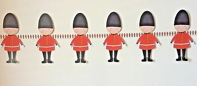London Soldier Theme Bunting Children's Bedroom, Playroom or party decoration