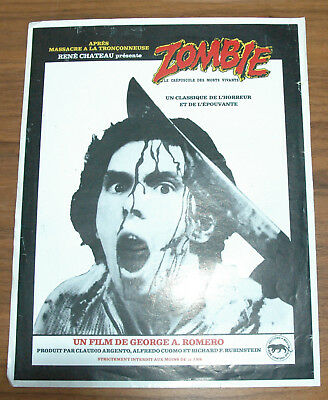 George A. Romero Zombie 1978 French  Synopsis Original