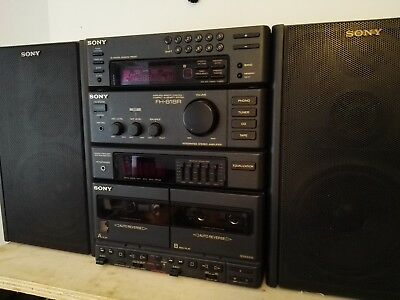Sony FH-818R Audio System with Speakers Great Sound