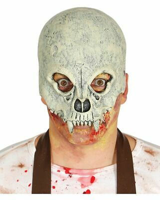 Horror Totenkopf Halloween Latexmaske
