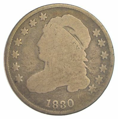 1830 Capped Bust Dime *XB72