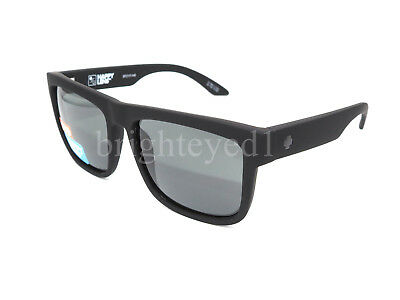 Authentic SPY Discord Soft Matte Black Sunglasses 673119973863 *NEW*