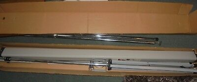 Reduced Photax projection screen[54ins wide]excellent condition-Leeds West Yorks