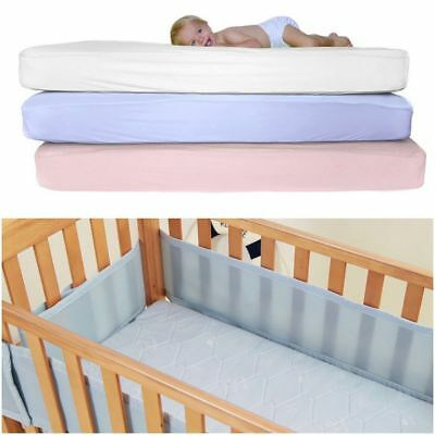 Boys & Girls Cot Bed / Toddler Bed Fitted Sheets,Percale 70x140cm Pack Of 2