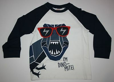 New Gymboree Dinosaur Wears Sunglasses Boys Top NWT 3T 4T 5T Outlet Dino Mite
