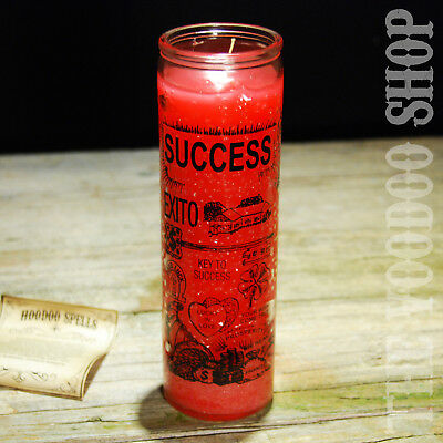 7 Tage Kerze im Glas - Success (Erfolg) - 7 Days Candle mit Anleitung Voodoo