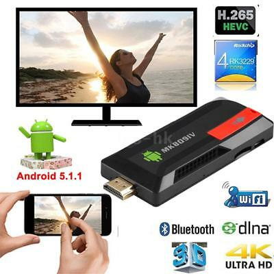 MK809 IV 8G /16G Quad Core Android 7.1 Smart TV Dongle Stick 4K WiFi H.265 Media