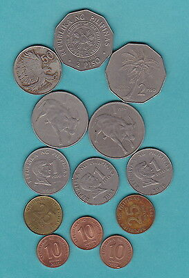 PHILIPPINES - WORLD COINS BULK SET - Suit travellers/Collectors - NICE SELECTION
