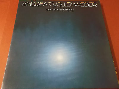 Andreas Vollenweider: Down To The Moon: Vinyl Lp Made In Holland: 1986: Cbs