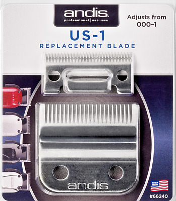 Andis US-1 & LCL carbon Blade Set  Envy Beauty Master # 66240 UPC, 040102662409