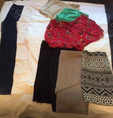 Ladies Womens Sz 16-18 Bulk Clothes Lot Pack 10 Peice Summer And Winter