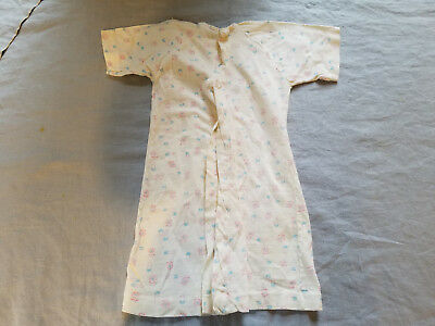 Vintage cotton Hanes super soft knit sleep nightie with safety pin print