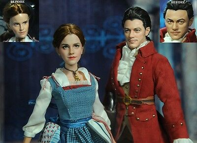 "Disney's Beauty and the Beast Belle & Gaston Figure Set 12"" New! £58"