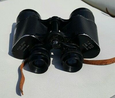 Omega Binoculars 7X50 Coated Lens Field 7.1 Degrees Magnification No Case
