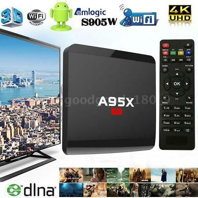 A95X R1 Android 7.1.2 Smart TV Box S905W Quad Core 8G/16G WIFI DLNA 4K Mini PC
