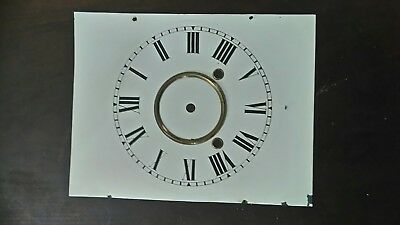 American clock metal dial, good condition 280mmx215mm