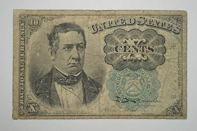19th Century Ten Cents Fractional Currency, Fifth Issue FR1264 *P68