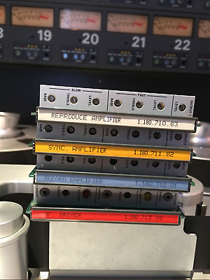Studer A800 Card Set (4 Cards)