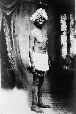 New 5x7 Native American Photo: Capt. John of Paiute North American Indian Tribe