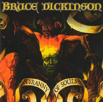 BRUCE DICKINSON (ex. Iron Maiden) - TYRANNY OF SOULS (2005) CD Jewel Case+GIFT