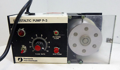 Pharmacia Peristaltic Pump P-3 Freq 50-60Hz