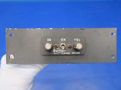 Sigtronics Intercom 12-24 Volts P/N SPA-600 (0518-19)