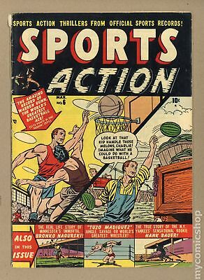 Sports Action #6 1951 VG+ 4.5