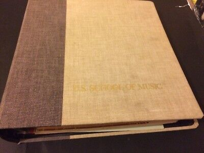 Very Rare! US School of Music 1972 Lessons 1-50 Complete