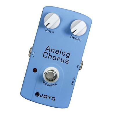 DC 9V Guitar Analog Chorus Effect Pedal True Bypass for Electric Guitar Accs