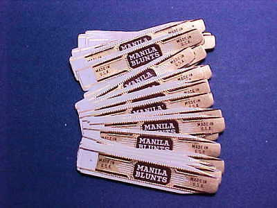 Vintage Cigar Bands - Manila Blunts Made in USA - Lot of (40)