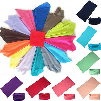 Outdoor Sports Wristbands Headbands Fitness Running Jogging Neck Scarf Head Wrap