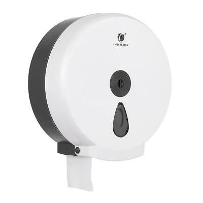 CHUANGDIAN Wall-mounted Bathroom Tissue Dispenser Round Paper Towel Holder O1V1