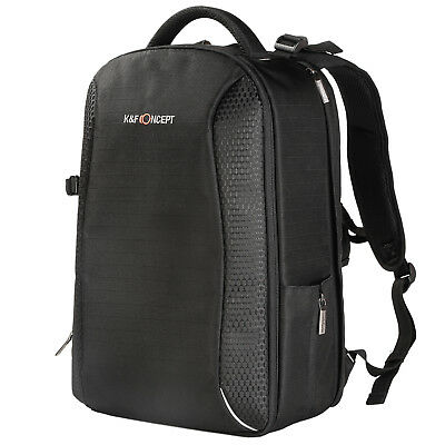 K&F Concept Camera Backpack Bag Case Waterproof for Canon Nikon Free Rain Cover