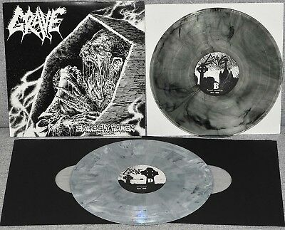 GRAVE - Extremely Rotten Demos DLP 2009 marbled grey