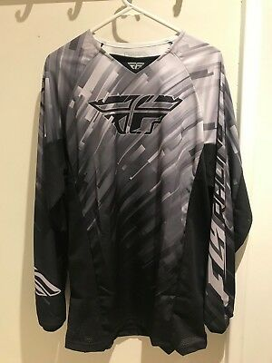 Fly Racing Motorcycle MX Shirt - Size M - Brand New