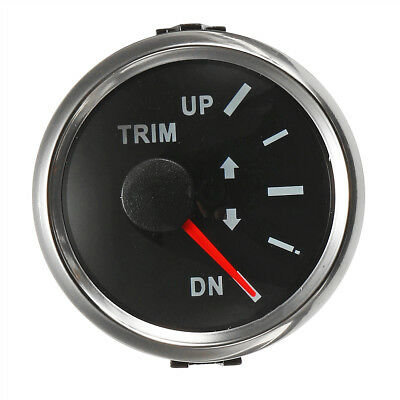 Boat Trim Gauge Marine Trim Tilt Gauge for Outboard Engine 52mm
