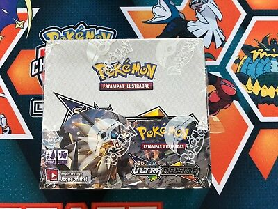 Pokemon Sun & Moon Ultra Prism Sealed Booster Box: 36 Packs - Portuguese!