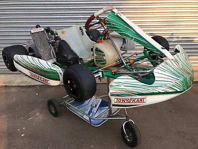 Otk Tony Kart 2014 Chassis With Rotax Max Senior Engine - Rotax -Now Sold -