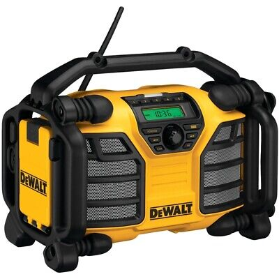 New Dewalt Dc012 Heavy Duty Worksite Radio 7.2 - 18 Volt Charger Sale