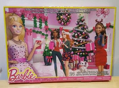 Barbie Advent Calendar 24 Fashion Accessories👸🏼new👸🏽xmas Countdown Toy Shoes
