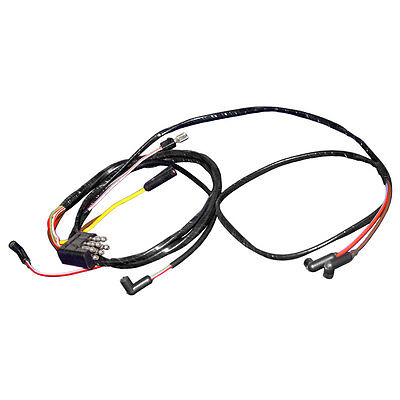 65GF6 WL W3SPD Mustang Engine Gauge Feed Wire 6 Cylinder With Lamp 3 Speed Heate