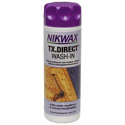 New Tx Direct Wash In Waterproofer 300Ml Multi Cleaning
