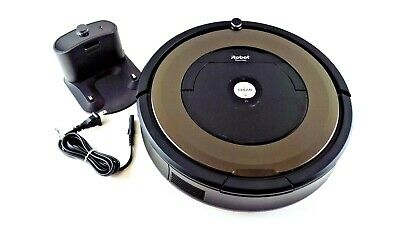 iRobot Roomba 890 - Gray/Black - Robotic Cleaner with charger No box #890GG