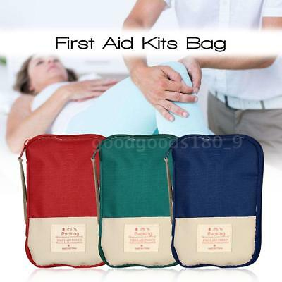 Camping Hiking Travel Home Outdoor Survival Kits Emergency Pouch Case First X3C2