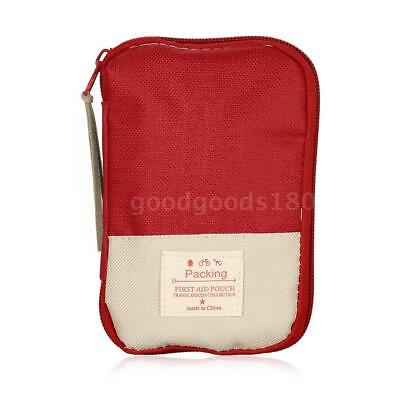 Camping Hiking Travel Home Outdoor Survival Kits Emergency Pouch Case First K8I7