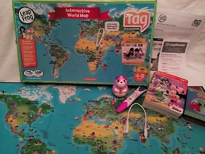 Leapfrog leapreader bundle purple pen junior 3 books leapfrog leapreader bundle purple pen junior 3 books interactive world map gumiabroncs Gallery