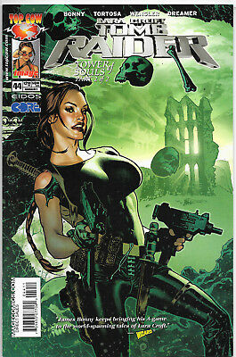 Tomb Raider The Series #44 Top Cow Comics Adam Hughes Cover NM